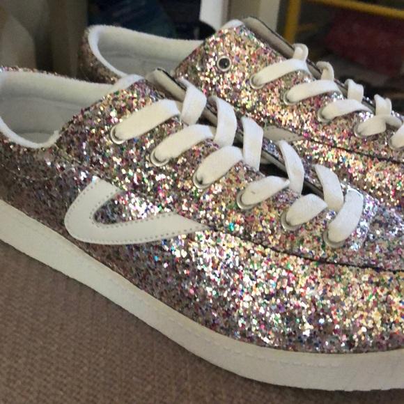 Madewell Tretorn Glitter Sneakers
